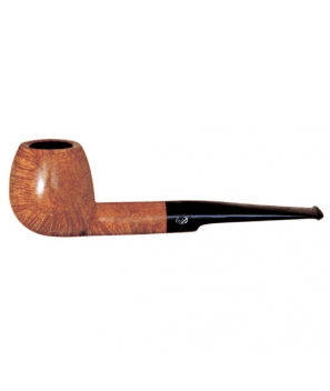 Davidoff Pipe No. 406 Apple Bright Natural Finish