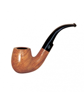 Davidoff Pipe No. 409 Classic Bent Bright Natural Finish