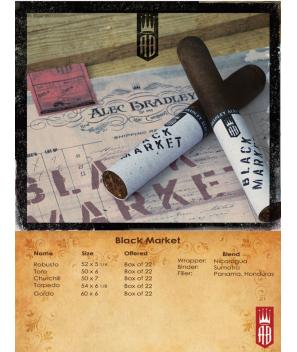 Alec Bradley Black Market Toro bx22