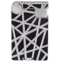 Xikar Crossover Lighter Black with Silver