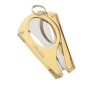 Xikar MTX Multi-Tool Cigar Cutter Gold Closed