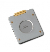 Zino Guillotine Single Blade Metal Cigar Cutter Bicolor