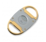 Zino Double Blade Metal Cigar Cutter Bicolor