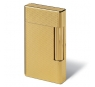 Davidoff Prestige Lighter Gold Plated Barley Cut
