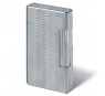 Davidoff Prestige Lighter Silver Plated Moire Finish