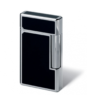 Davidoff Prestige Lighter Black Lacquer With Palladium Accents