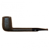 Davidoff Pipe No. 102 Canadian Sandblasted Black