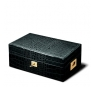 Davidoff No. 4 Leather Type Croco Black Humidor