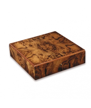 Davidoff Large Burl Walnut Brilliant Travel Humidor
