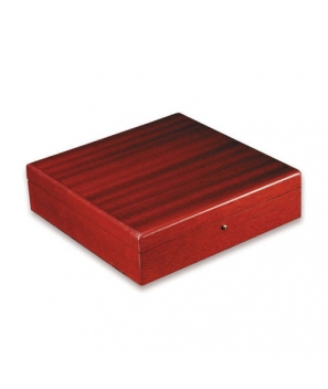Davidoff Large Red Mahogany Matte Travel Humidor