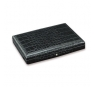 Davidoff Small Leather Type Croco Black Travel Humidor