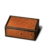 The Griffin's Large Macassar/vavona Marquetry Humidor