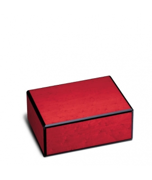 The Griffin's Small Red Birdseye Maple Humidor