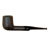 Davidoff Pipe No. 112 Billiard Sandblasted Black