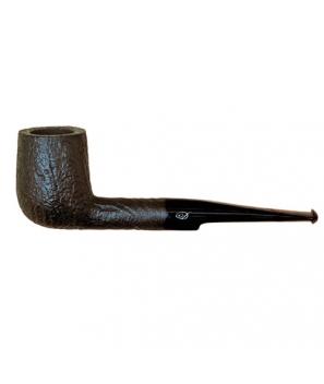 Davidoff Pipe No. 112 Billiard Sandblasted Black