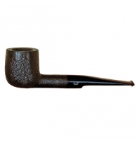 Davidoff Pipe No. 113 Large Pot Sandblasted Black