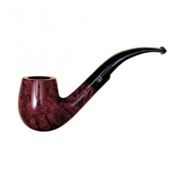 Davidoff Pipe No. 204 Large Bent Double Red Finish