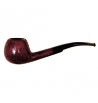 Davidoff Pipe No. 205 Half Bent Double Red Finish