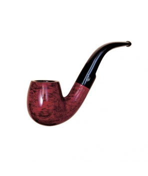 Davidoff Pipe No. 209 Classic Bent Double Red Finish