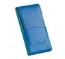 Davidoff Blue/green Leather Five Finger Demi-tasse Case