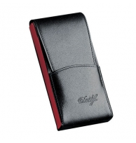 Davidoff Blue/red Leather Five Finger Demi-tasse Case