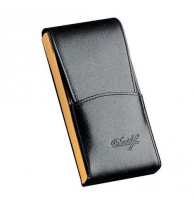 Davidoff Blue/yellow Leather Five Finger Demi-tasse Case