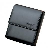 Davidoff Black Leather Twenty Finger Mini Cigarillos Case
