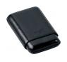 Davidoff Black Leather Three Finger Robusto Cigar Case
