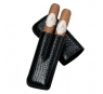Davidoff Black Leather Two Finger