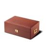 Davidoff No. 4 Leather Type Ostrich Brown Humidor