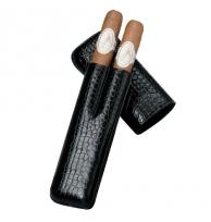 Davidoff Black Leather Two Finger