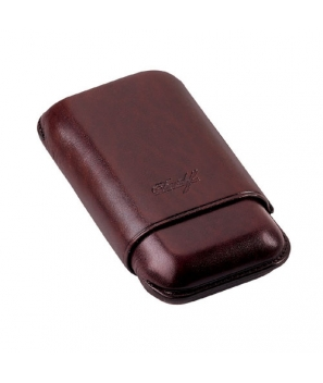 Davidoff Brown Leather Two Finger Robusto
